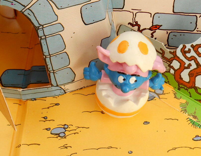 20492 Schtroumpf paques oeuf beb Smurf puffi pitufo puffo schtroumpfette SPECIAL