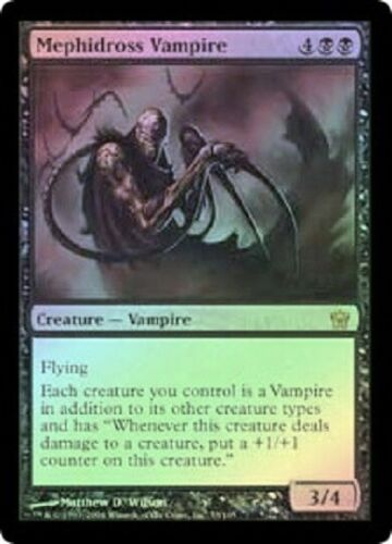 Fifth Dawn  MTG  Foil  Mephidross Vampire   Magic