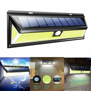 180-LED-Solar-Power-PIR-Motion-Sensor-Wall-Light-Outdoor-Garden-Lamp-Waterproof
