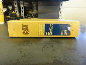 Caterpillar-CAT-214-224-Wheel-Type-Excavators-Service-Manual