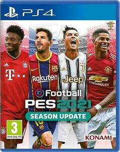 PS 4 PES 2021 21 NUOVO SIGILLATO ITALIANO EU DVD CD FISICO DISPONIBILE SUBITO
