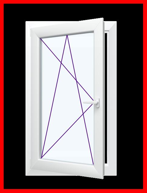 Fenster  1 Flügel Dreh   Kipp Premium- Wohnraumfenster