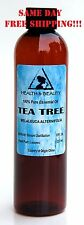 TEA TREE ESSENTIAL OIL by H&B Oils Center AROMATHERAPY 100% PURE 8 OZ