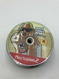 Sony PlayStation 2 PS2 Disc Only TESTED Grand Theft Auto San Andreas GTA GH
