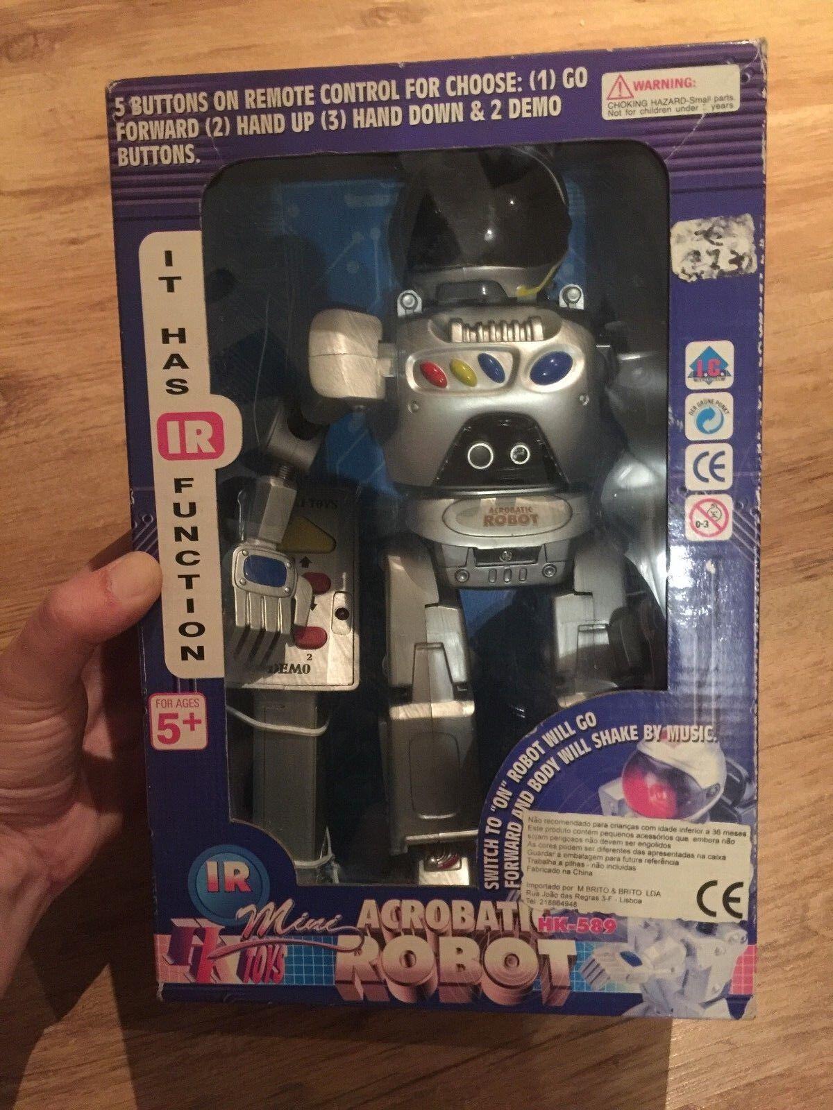 ACROBATIC ROBOT HK589 Med fjärrstyrning - ORIGINAL HO KAY leksaker