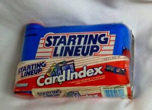 RARE-Vintage-1989-Kenner-Starting-Lineup-SLU-Card-Index-Case-Sealed-Mint-FREESHP