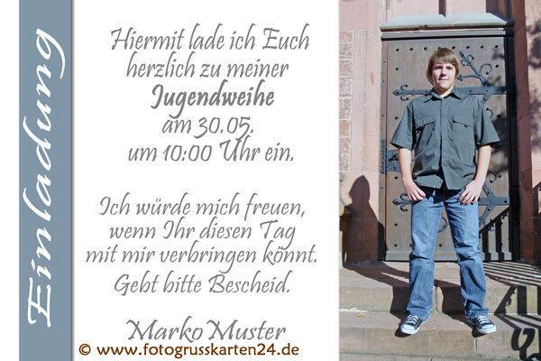 Einladungskarten Jugendweihe EJ12 Einladungen Jugendfeier 10 x Foto  KuGrüns   | Ideales Geschenk für alle Gelegenheiten  | Zahlreiche In Vielfalt