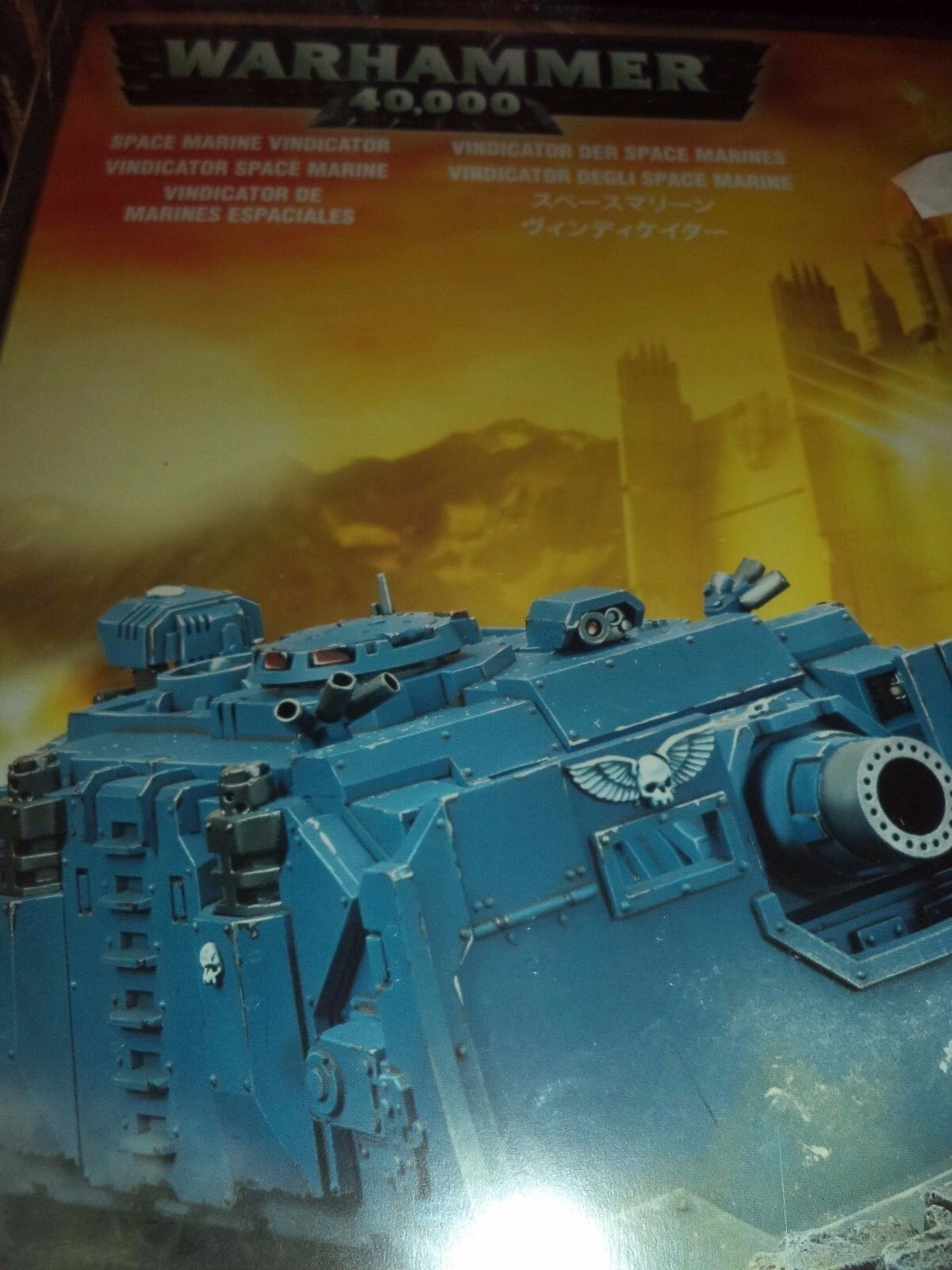Space Marine Vindicator -- Warhammer 40k 40,000 spel verkstad modell New
