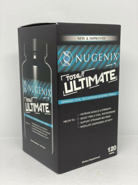 Nugenix Ultimate Testosterone Booster- 120 Tablets for sale online eBay