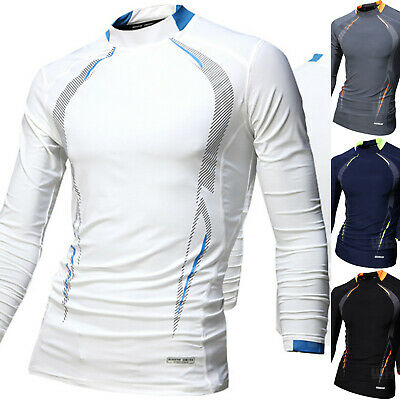 Mens Beach Water Sports Rash Guard Wetsuits Long Sleeve Tops Swimwear M476 Xs-m Relieving Rheumatism And Cold Sporting Goods Men's Clothing