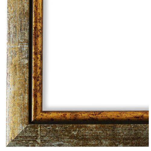 Cadre photo gris or rétro bois Perouse-DIN a2-DIN a3-DIN a4-DIN a5