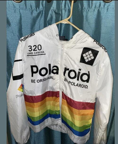 polaroid jacket medium white - image 1
