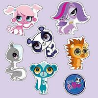 Littlest Pet Shop Wall Graphic Set Party Decoration Birthday