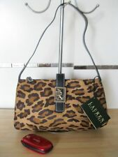 bagsclothesetc: NWT RALPH LAUREN Animal Print Hobo Bag - Brown FREE SHIPPING