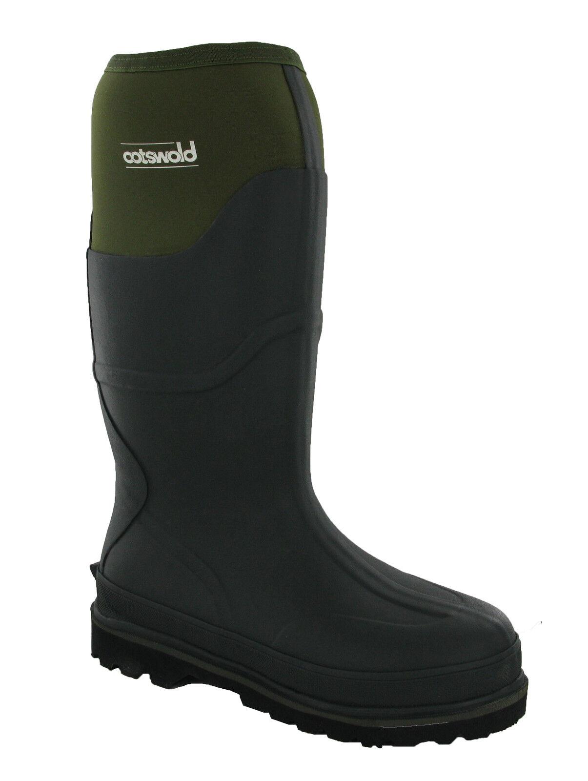 Cotswold Ranger con Forro de Neopreno Mugrero Impermeable Hombre botas Agua