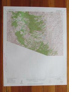 Ruby Arizona Map.Ruby Arizona 1961 Original Vintage Usgs Topo Map Ebay