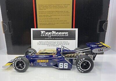 Replicarz 1:18 1972 Winner Indianapolis 500 Mark Donohue #66 R184827 Diecast