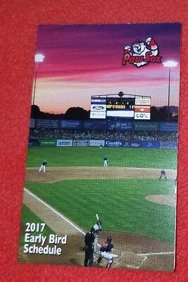 COMPLETE 2017 PAWTUCKET RED SOX TEAM SET MINORS AAA BOSTON RED SOX