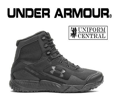 NEW STYLE Under Armour UA Men/'s Black VALSETZ RTS 1.5 Tactical Boots 3021034 001
