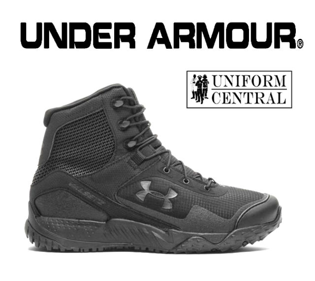447211dbb NEW STYLE Under Armour UA Men s Black VALSETZ RTS 1.5 Tactical Boots  3021034 001