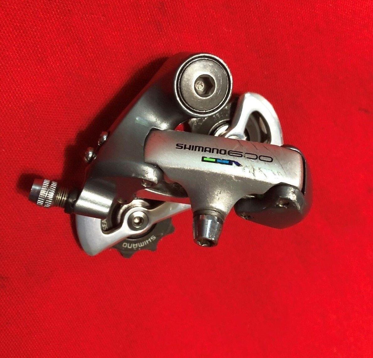 SHIMANO 600  RD-6401 8 SPEED REAR DERAILEUR SHORT CAGE