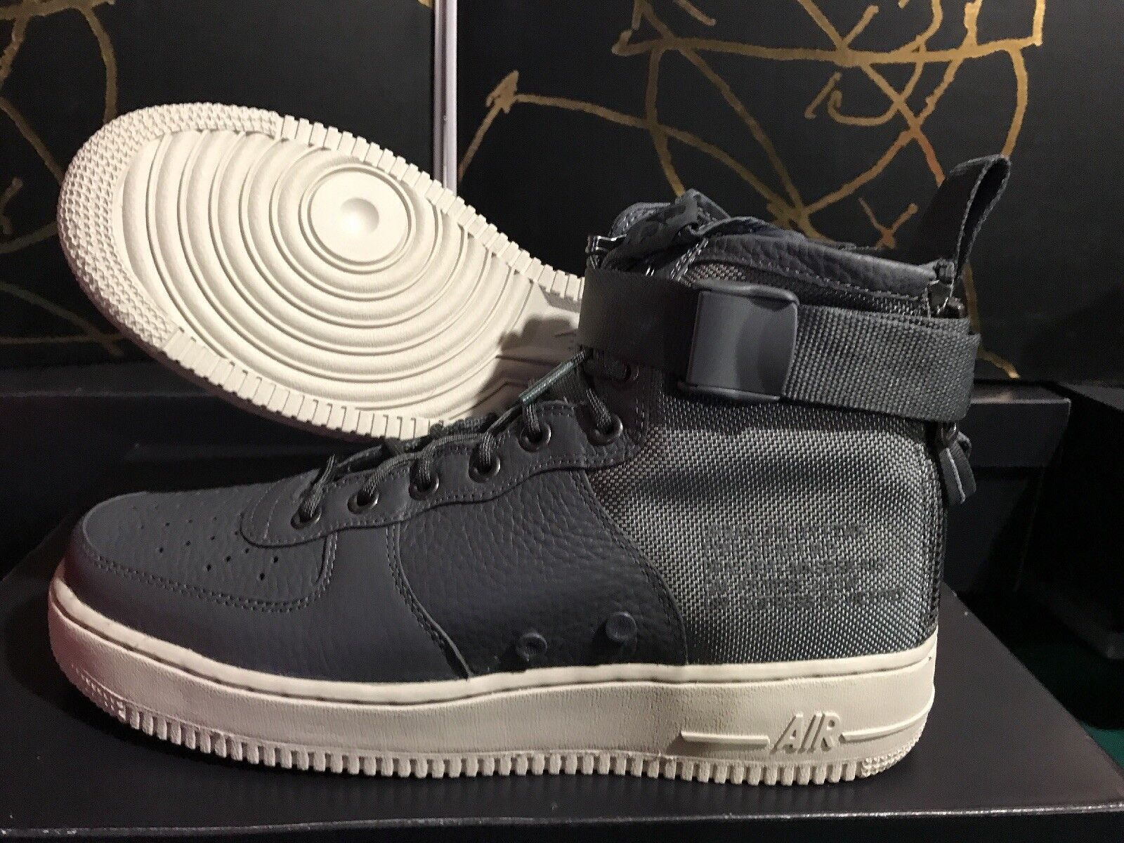 nike SF AF1 Mid Special Forces Air force MID GREY US MENS SHOE SIZES 917753-004 Comfortable and good-looking