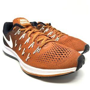 Coche entrega panel  Nike Air Zoom Pegasus 33 para mujer Talla 9.5 Naranja/Negro/Blanco  Zapatillas | eBay