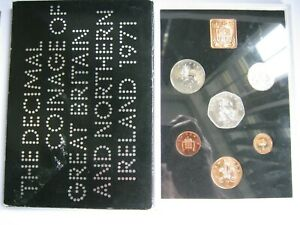 1971 Royal Mint 6 coin Proof set