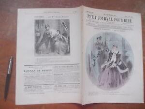 PETIT-JOURNAL-POUR-RIRE-525-1866-CROQUIS-Grevin-NAIVETES-LORETTES-ENFANTS