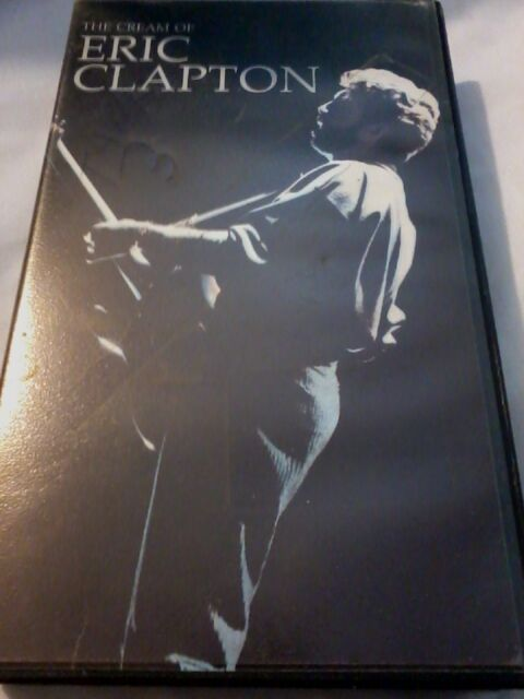 ERIC CLAPTON The Cream Of... VHS PAL UK Video cassette tape POST FREE