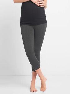 Gap Maternity Pure Body Low Rise Capri Legging Charcoal 73451 6 Ebay