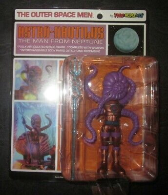 2011 4 FOUR HORSEMEN THE OUTER SPACE MEN SERIES 4 ELECTRON MAN FROM PLUTO MOC
