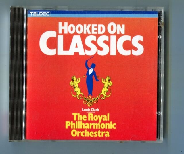 teldec cd  HOOKED ON CLASSICS  ©1984 LOUIS CLARK - made in japan - # 8.24950