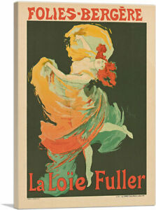 Loie-Fuller-at-the-Folies-Bergere-1893-Canvas-Art-Print-by-Jules-Cheret