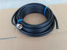 50 ohm 1ft US MADE   5 pack  LMR-100A  Coax cable SMA Male to MMCX R//A Male