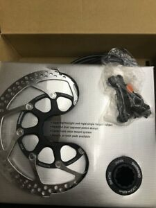 Shimano-XTR-BR-M965-XTR-Front-Hydraulic-Caliper-w-160mm-Center-Lock-Rotor