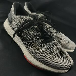 new product ecff1 05128 Men's Adidas PureBoost DPR Running Shoes Sz 8 Core Black / White ...