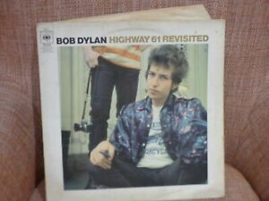 Bob Dylan Highway 61 Revisited vinyl album cbs 1965 62572