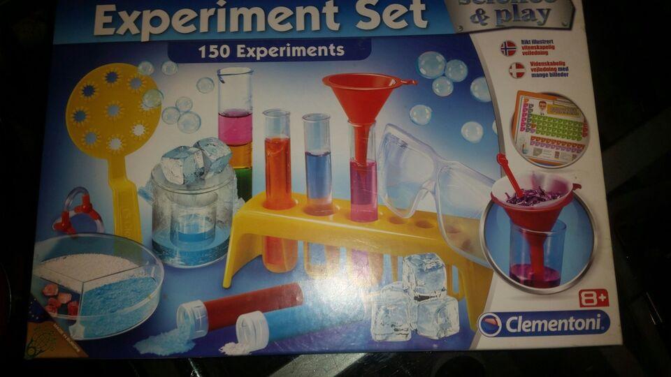 Andet legetøj, Experiment set, Science & play