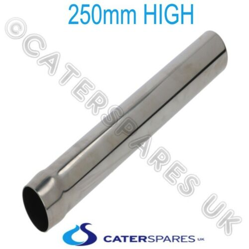 250mm 40mm COMMERCIAL CATERING SINK STAINLESS STEEL PLUG AND WASTE OUTLET SET
