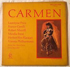 3-LP box set. Carmen. Karajan. Soria Series RCA Victor LD-6164 Mono. NM