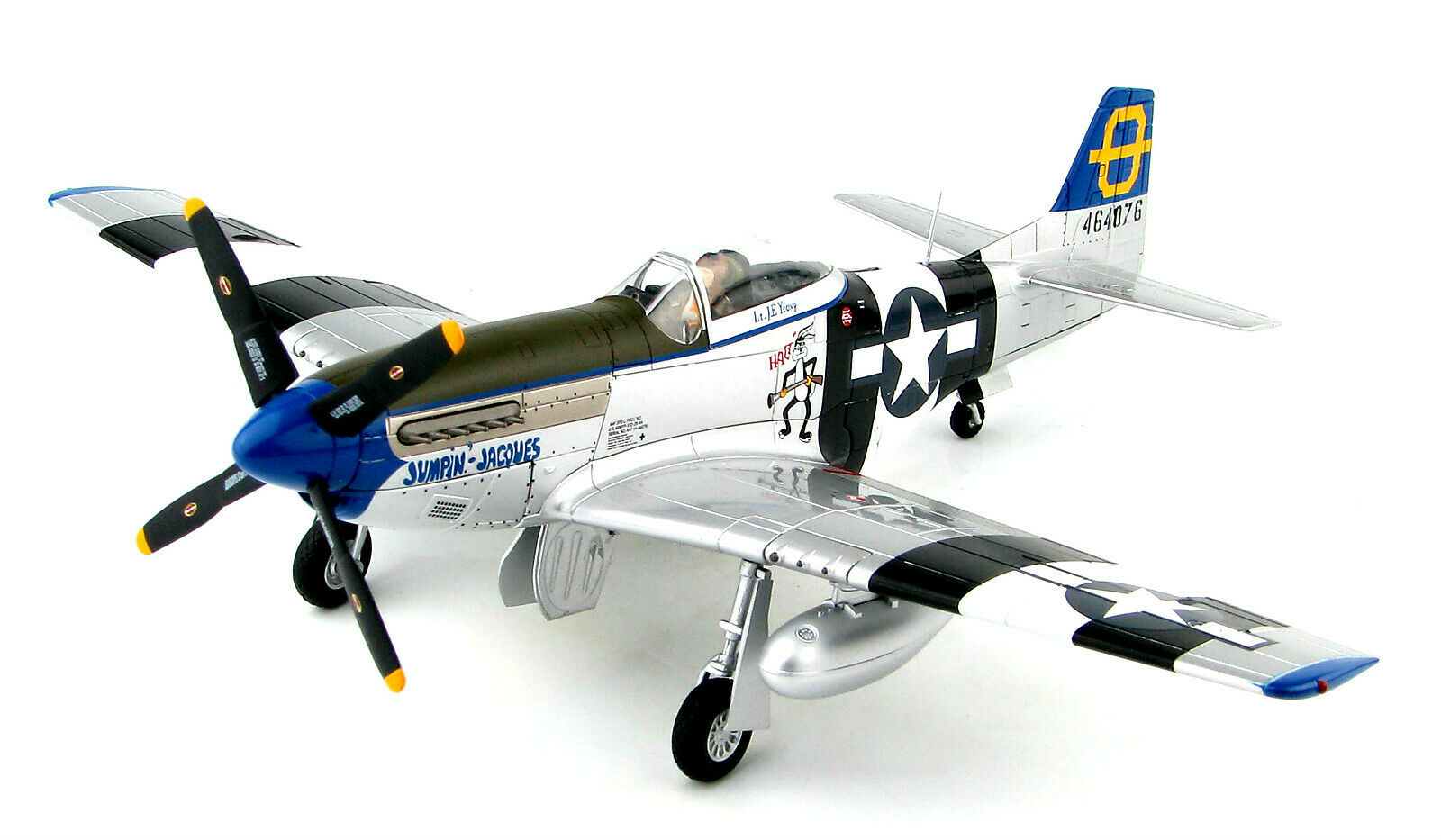 Hobby Master 1 48 USAAF P-51D Mustang Fighter -  Jumpin' Jacques ,  HA7740