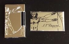 ST DUPONT VITRUVIAN MAN PREMIUM LIMITED EDITION LIGHTER LINE 2 LINGE 2 PALLADIUM