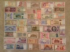 Lot Of 42 World Banknotes. Collectable. All Different. All Genuine. Unc