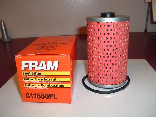 fram fuel filter case of 12 part number c111860pl Gas Fuel Filter