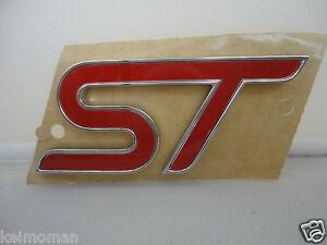 Genuine-Ford-Focus-ST-Front-Grille-ST-Badge-2012-Ford-Main-Dealer