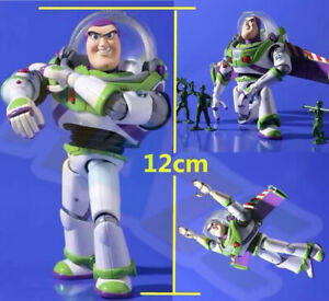Movie-Toy-Story-3-Buzz-Lightyear-12cm-PVC-Action-Figure-Model-Toy-In-Box-Present