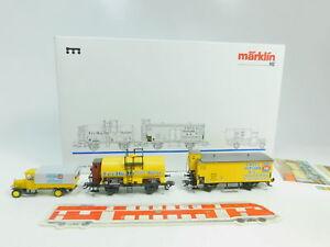 Bo308-1-Marklin-mhi-h0-ac-48924-coches-set-homann-insultan-DRG-nem-KK-Neuw-embalaje-original