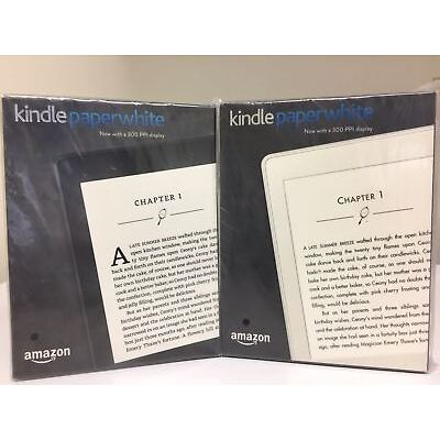 Brand New Amazon - Kindle Paperwhite - White  and  Black  With Special offer