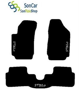 Fiat Stilo Auto Fußmatte Deckel Wieder Zusammen+3 Dekorationen+4block